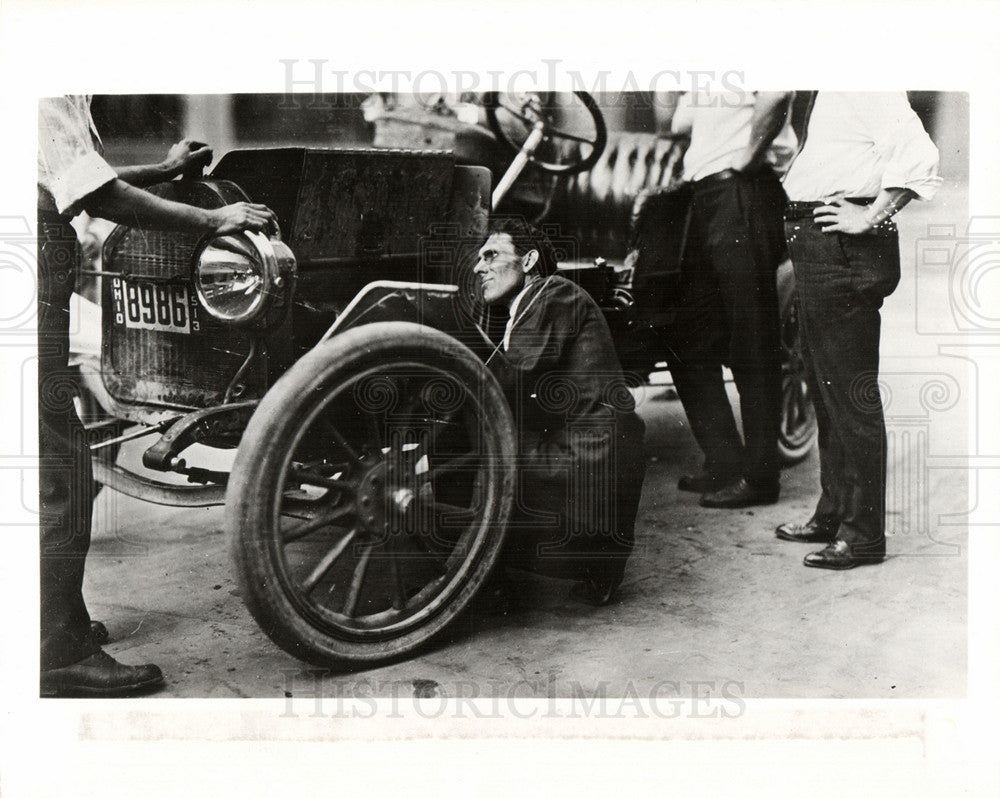 1913 Press Photo Kettering 1913 test Buick - Historic Images