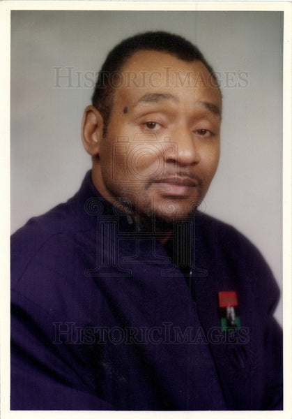 Press Photo Kwame Kenyatta Detroit School Board - Historic Images