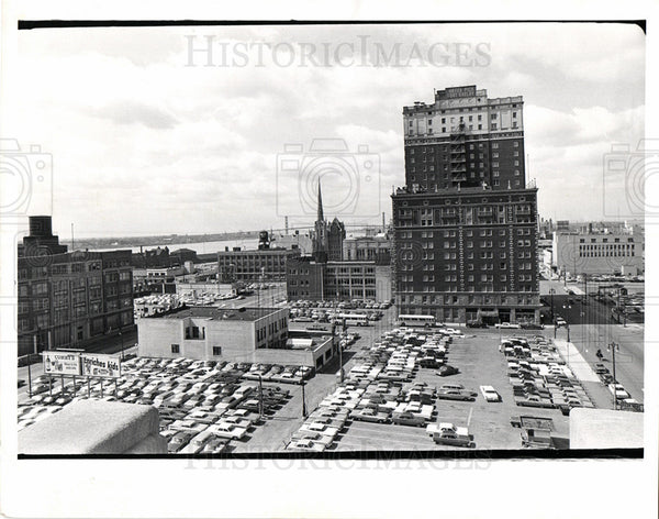 Press Photo Fort Shelby Hotel Detroit Free Press - Historic Images