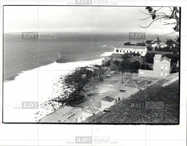 1981 Press Photo Hotels and Plush housing - Historic Images