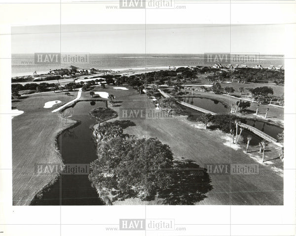 1984 Press Photo Seabrook Island south carolina - Historic Images