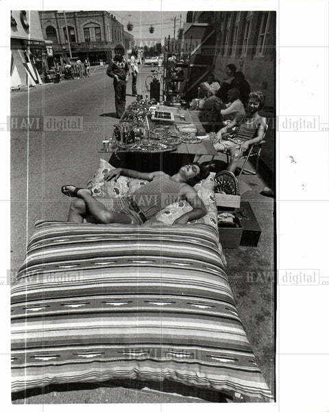 1975 Press Photo Rochester city Michigan United States - Historic Images