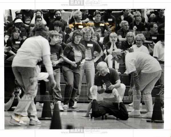 1991 Press Photo Special Olympics - Historic Images