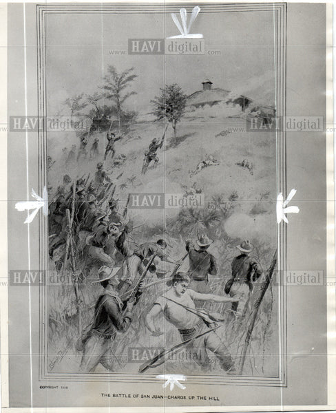 1940 Press Photo Spanish American War 1898 - Historic Images