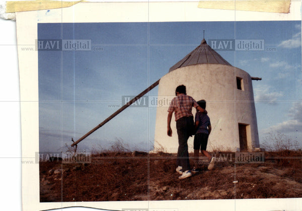 1989 Press Photo Spain Architecture - Historic Images
