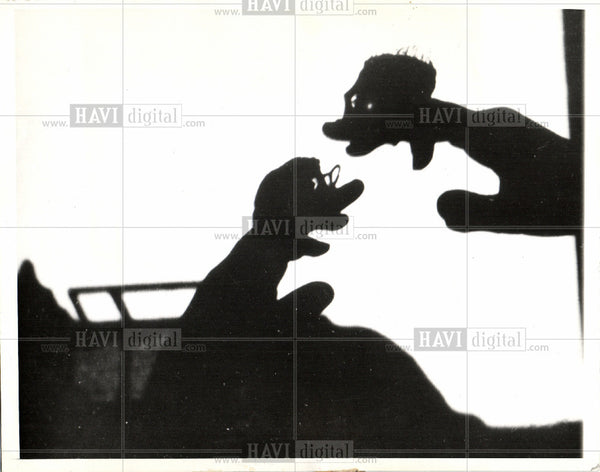 1937 Press Photo Silhouette - Historic Images