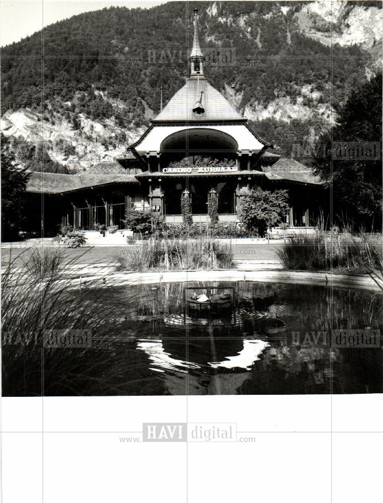 1906 Press Photo casino kurasaal,interlaken,oberland - Historic Images