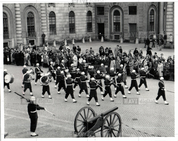 1979 Press Photo THE UDDEVALLA MILITARY BAND - Historic Images