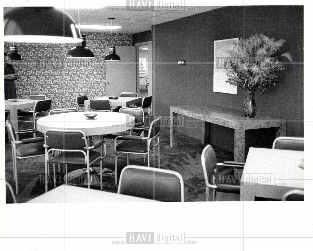 1979 Press Photo 1300 Lafayette East Room renovate - Historic Images