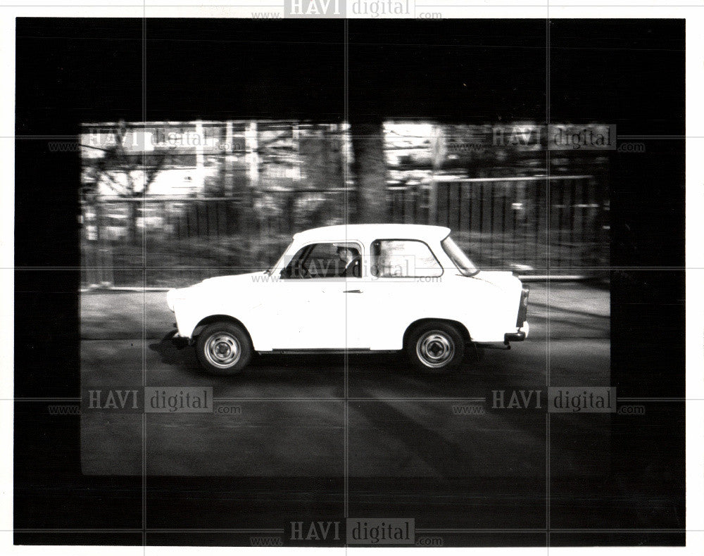 1992 Press Photo TRABANT AUTOMOBILE - Historic Images