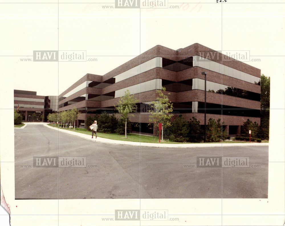 1991 Press Photo Toyota ann arbor architecture - Historic Images