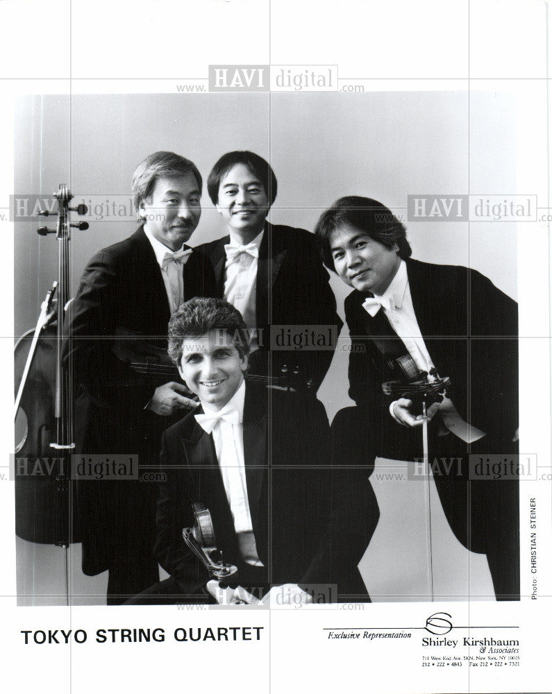 Press Photo tokyo string quartet - Historic Images