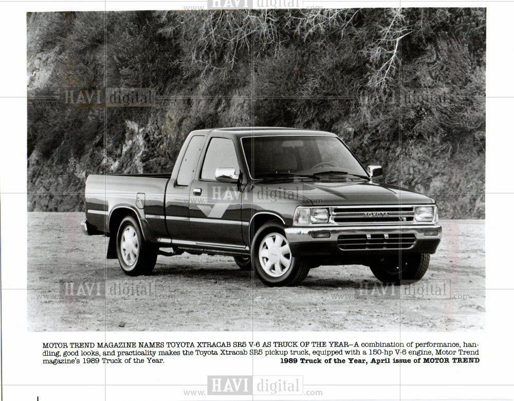 1989 Press Photo Toyota - Historic Images