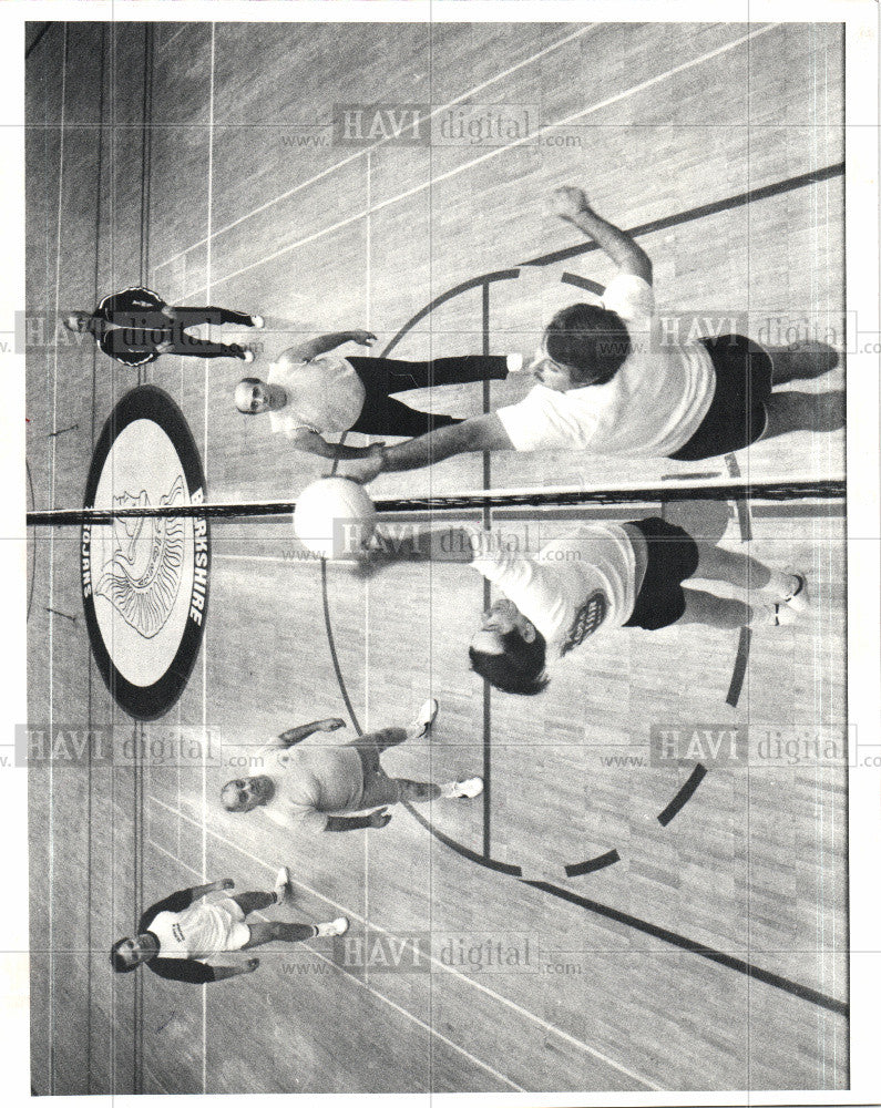 1982 Press Photo VOLLEYBALL - Historic Images