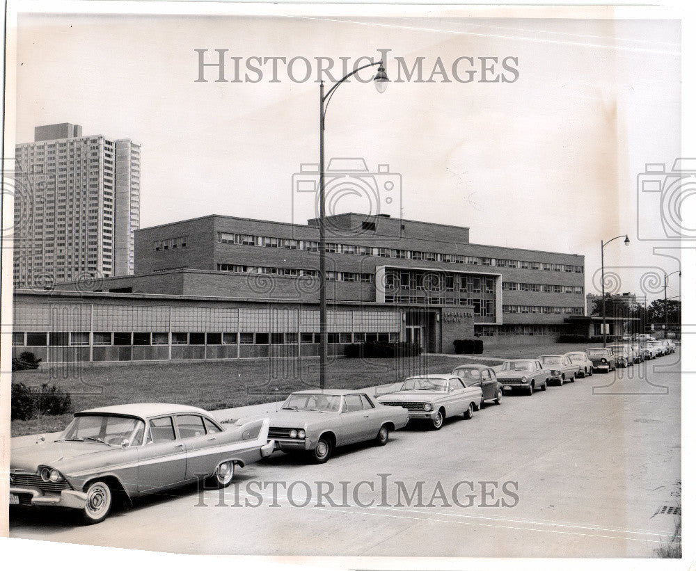 1965 Press Photo Wayne State University School Medicine - Historic Images
