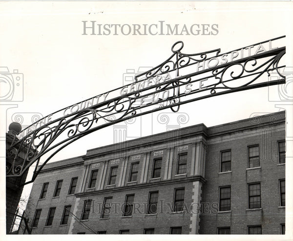 Press Photo Wyne country General Hospital - Historic Images