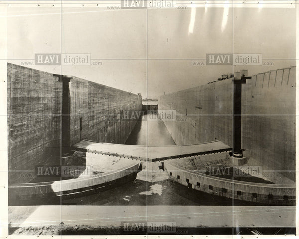 1929 Press Photo Wellland Ship Canal - Historic Images