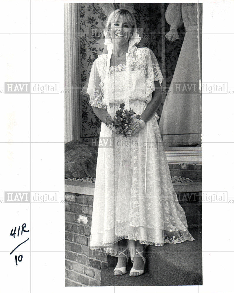 1981 Press Photo month of brides - Historic Images