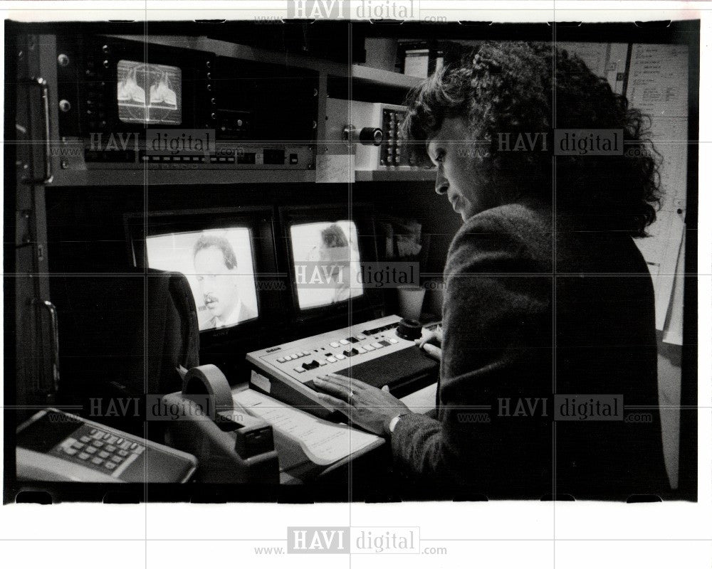 1988 Press Photo WKBD TV - Historic Images