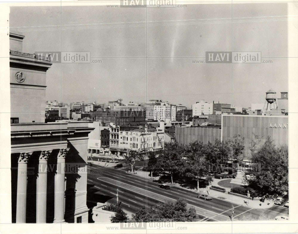 1964 Press Photo Pennsylvania Avenue Advisory Council - Historic Images