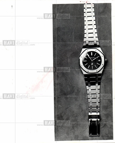 1974 Press Photo Royal Oak watch - Historic Images