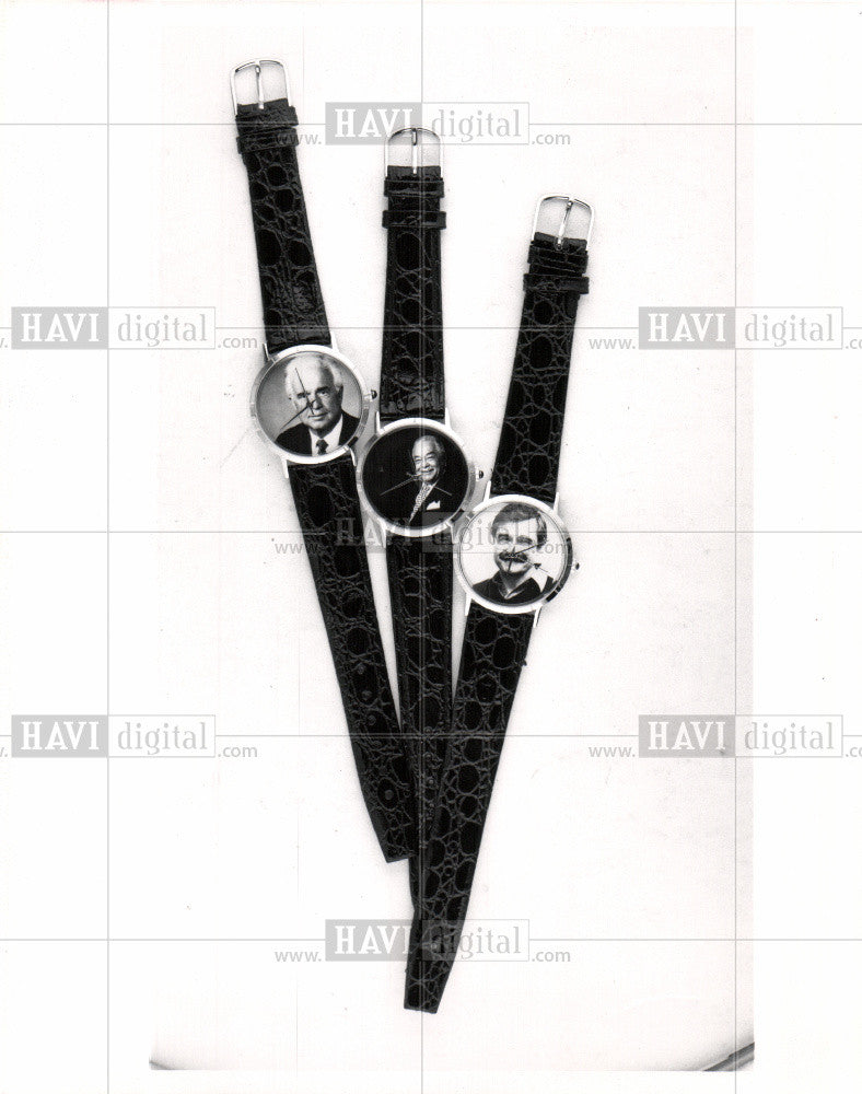 1991 Press Photo Watch - Historic Images