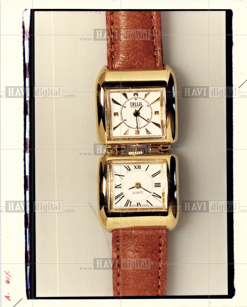 Press Photo Watch -time piece - Historic Images