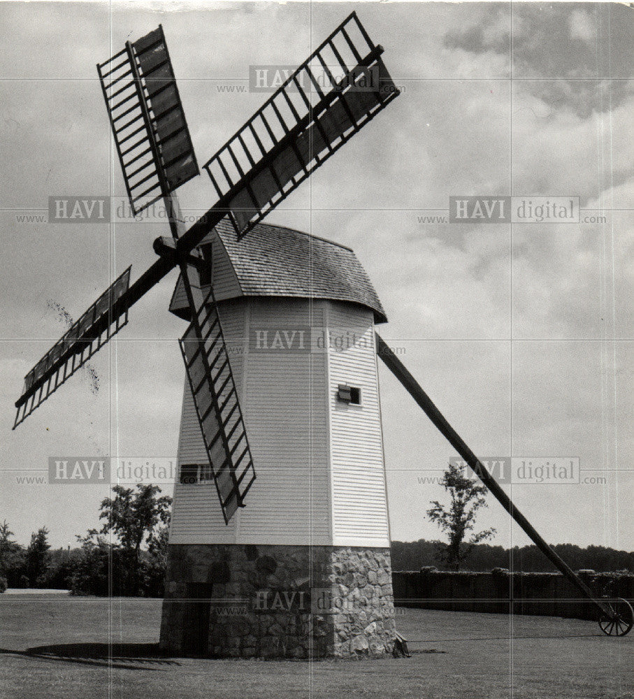 1938 Press Photo Gr. Village Cap Cod windmill - Historic Images