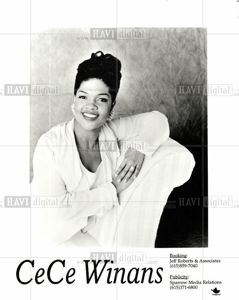 1997 Press Photo CECE WINANS - Historic Images