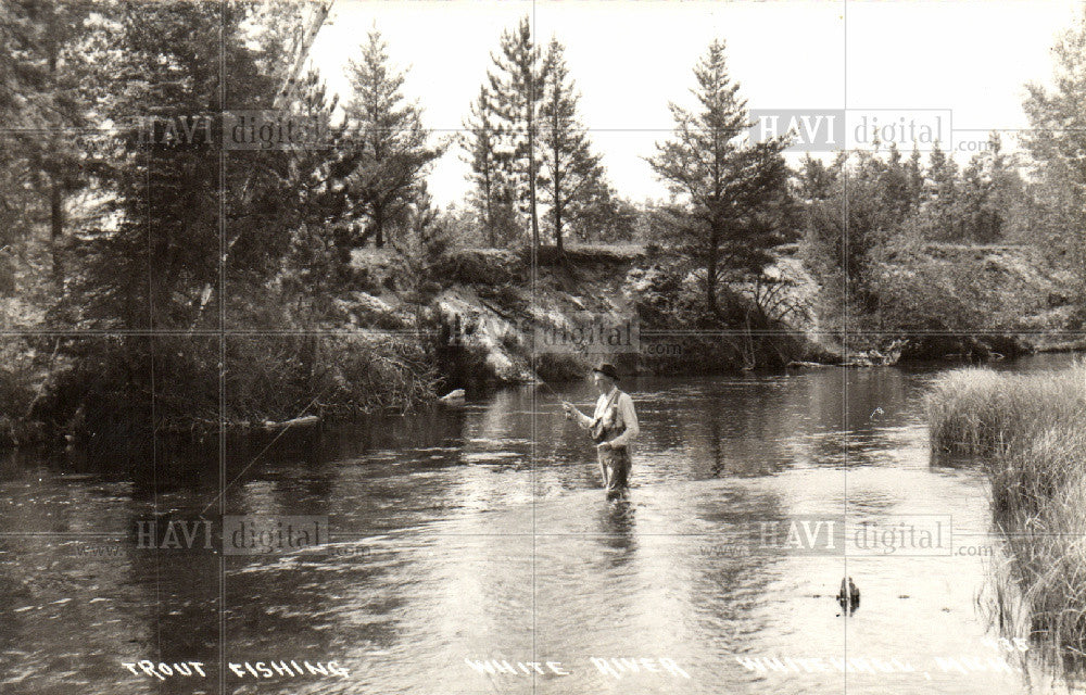 Press Photo White River - Historic Images