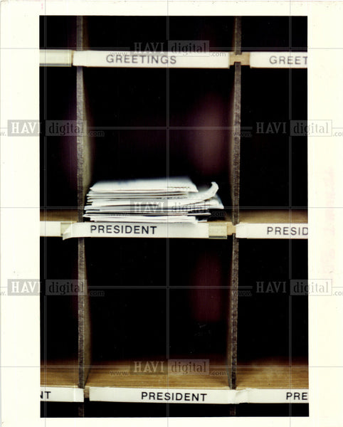 1992 Press Photo White House - Historic Images