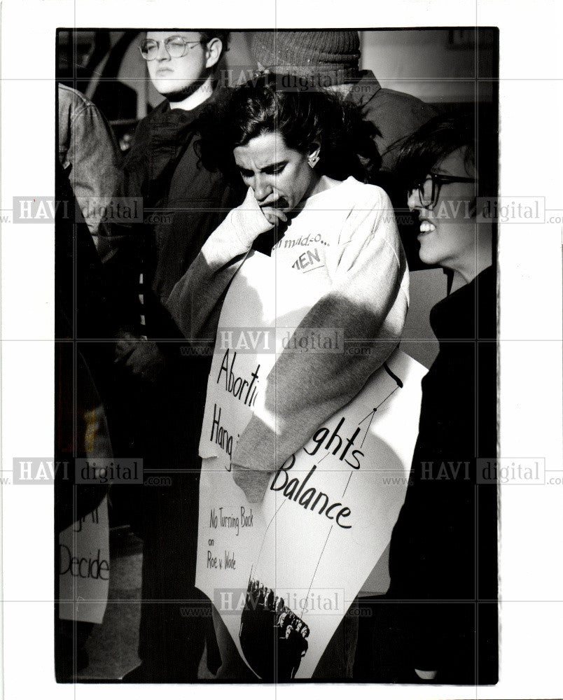 Press Photo Abortion rights - Historic Images