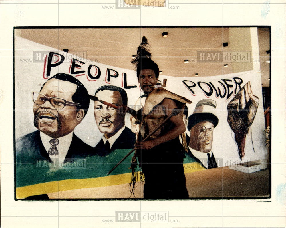 Press Photo African National Congress - Historic Images