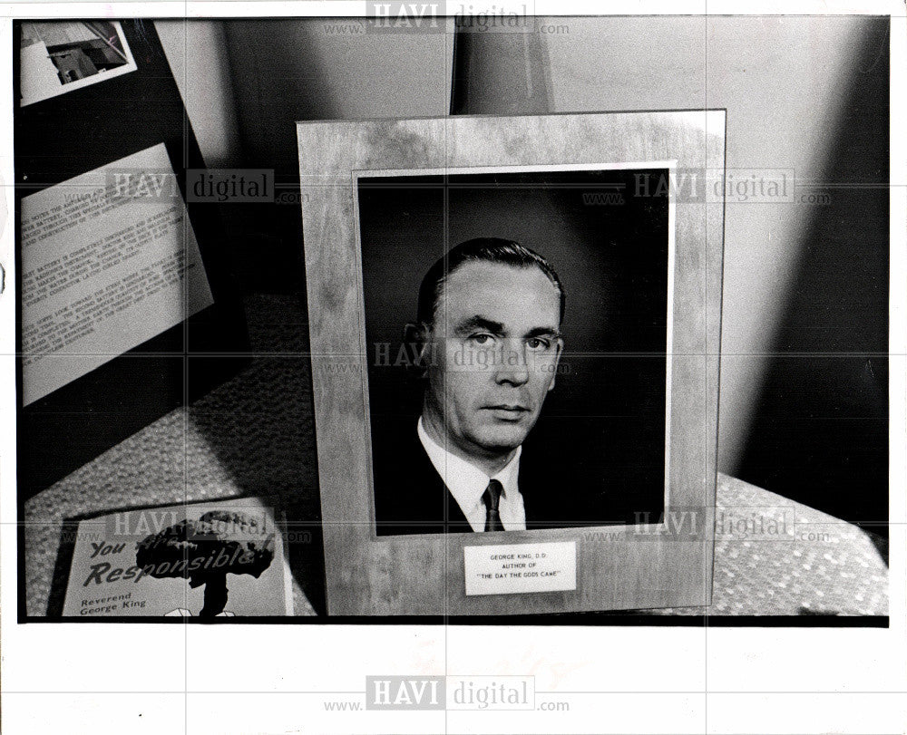 Press Photo Detroit Aetherius Society George King - Historic Images