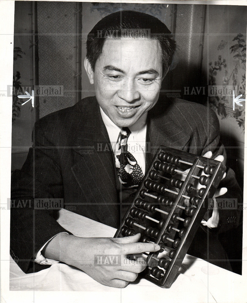 Press Photo Abacus - Historic Images