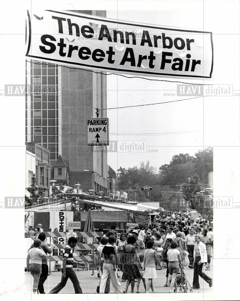 1978 Press Photo Ann Arbor Michigan - Historic Images