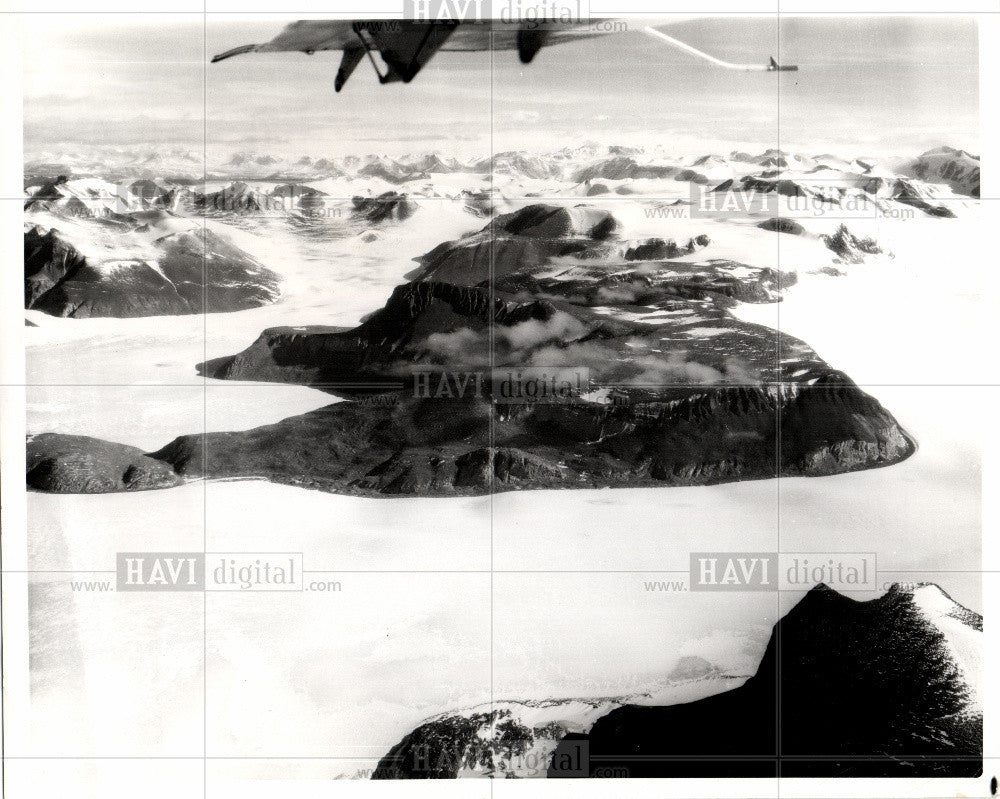 1963 Press Photo Antartica South Pole - Historic Images