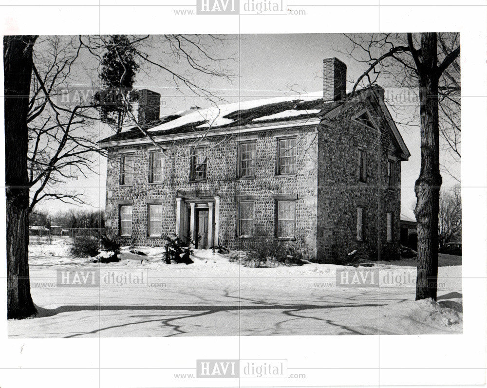 1978 Press Photo Ann Arbor Historic - Historic Images