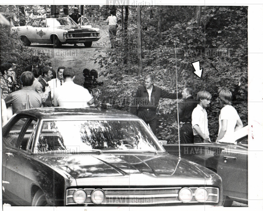 1969 Press Photo Cord Murder, Ann Arbor - Historic Images