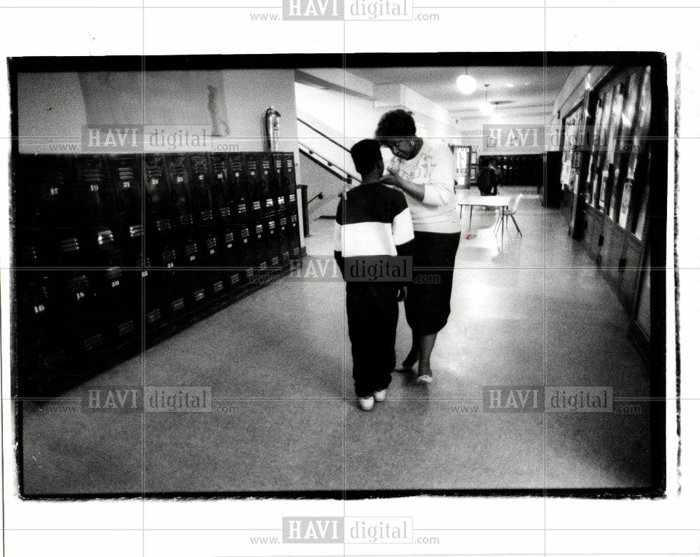 1990 Press Photo Angell Raynna Williams - Historic Images