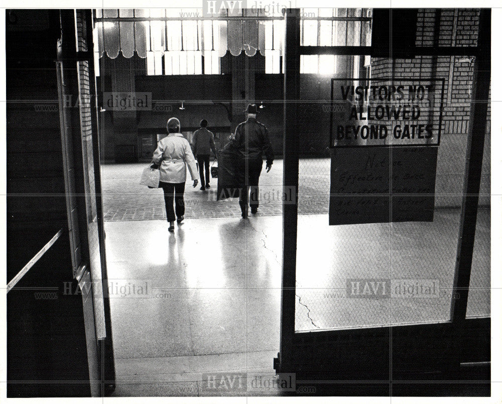 1972 Press Photo Amtrac station - Historic Images