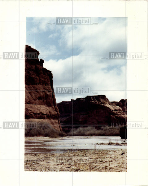 1992 Press Photo Canyon de Chelly Arizona - Historic Images