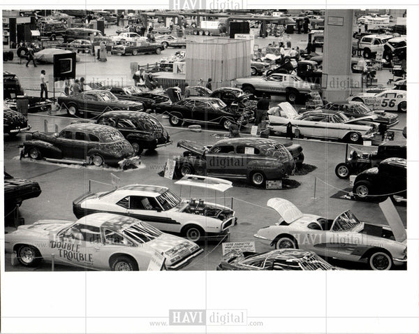 1984 Press Photo classic cars custom cobo hall autorama - Historic Images