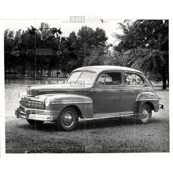 1945 Press Photo 1946 mercury automobile