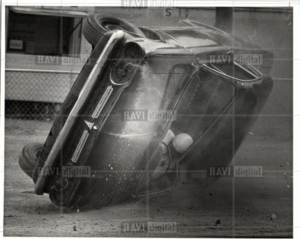 1970 Press Photo Automobile Racing Accidents Cavalcade - Historic Images