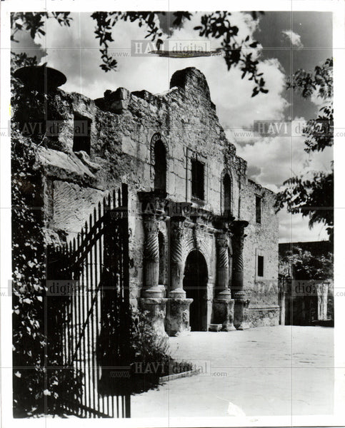 1993 Press Photo ALAMO - Historic Images