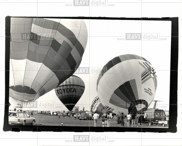 1933 Press Photo Balloon & Ballooning - Historic Images