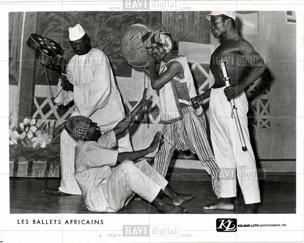Press Photo Les Ballets Africains - dance company - Historic Images