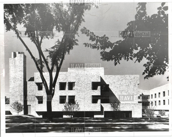 1977 Press Photo Bon Secours architecture winner design - Historic Images
