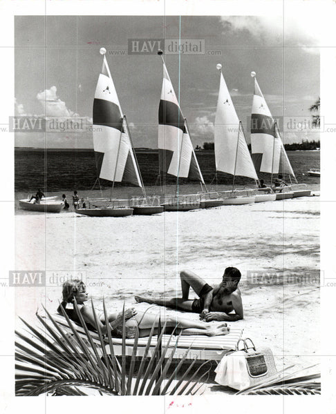 1967 Press Photo Nassau is the capital of bahamas - Historic Images